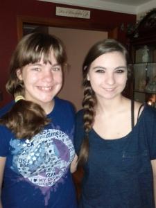 Megan and Maria 8-13-13