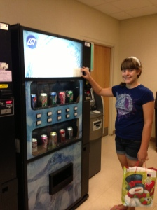 Megan-vending machine change